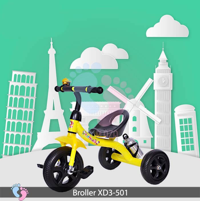 Xe đạp 3 bánh Broller 501 3